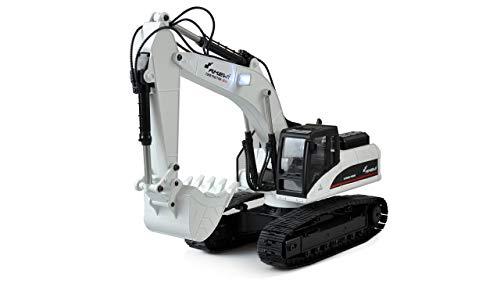 Amewi 22415 1:14 Elektro RC Funktionsmodell RTR, weiß
