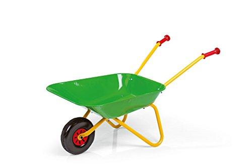 Rolly Toys Metallschubkarre (ab 2,5 Jahren, Kinderschubkarre, Metallschüssel, Kunststoffgriffe, max. belastbar bis 25 kg) 271900*