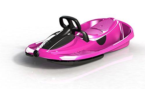 Gizmo Riders Lenkschlitten Steerable Sledges Stratos, Monster Pink, 41104203