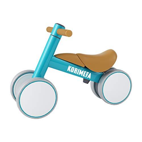 KORIMEFA Kinder Laufrad ab 1 Jahr Spielzeug Lauflernrad ohne Pedale für 10 - 36 Monate Baby, Erst Rutschrad Fahrrad für Jungen Mädchen als Geschenke