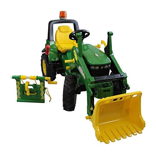 Rolly Toys rollyFarmtrac John Deere 7930 (Rundumleuchte, Frontlader, Seilwinde, Kinder 3 - 8 Jahre, Luftreifen) 710362*