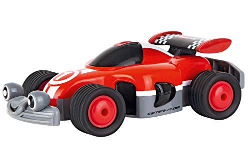 Carrera RC First Racer mit Controller I Ferngesteuertes Auto ab 3 Jahren für drinnen & draußen I Mini Spielzeugauto mit echtem Sound zum Mitnehmen + Controller I Spielzeug für Kinder & Erwachsene