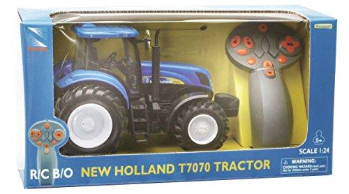 NewRay 88553 Ferngesteuerter Modell-Traktor New Holland T7070 1:24