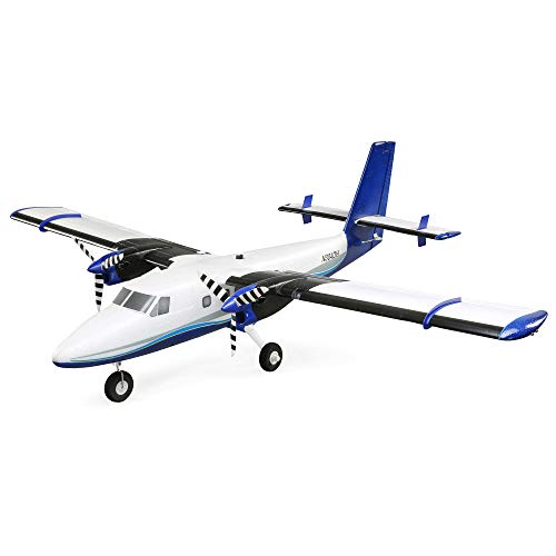 Twin Otter 1.2m BNF Basic with AS3X and Safe, Includes Floats