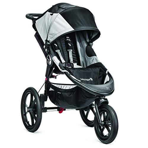 Baby Jogger Summit X3 Kinderwagen | für jedes Gelände | zusammenklappbar und tragbar | schwarz/grau