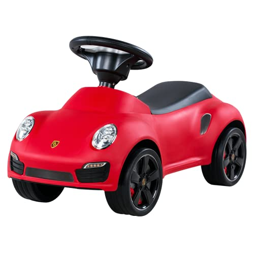 Kinder Porsche 911 Turbo S Rutschauto Rutscher Car Babyauto Rot