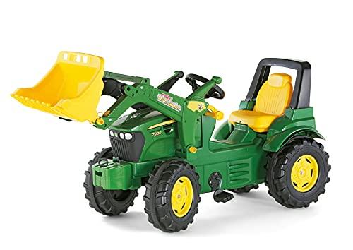 Rolly Toys S2671002 710027 - rollyFarmtrac John Deere 7930 Tretfahrzeug (für Kinder ab drei Jahre, Flüsterlaufreifen, verstellbarer Sitz)*