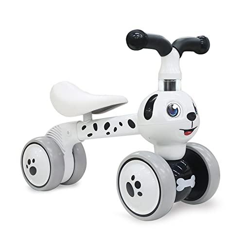 XIAPIA Kinder Laufrad ab 1 Jahr Lauflernrad für 10 - 36 Monate Baby, TÜV geprüft Erst Rutschrad Fahrzeug Geschenke für Jungen/Mädchen Kleinkind Spielzeug (Dalmatiner)