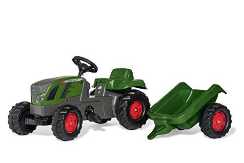 Rollykid 01/316/6 Toys rollyKid Fendt 516 Vario Trettraktor (mit Anhänger, Alter 2,5-5 Jahre, Heckkupplung, Drehschemellenkung) 13166