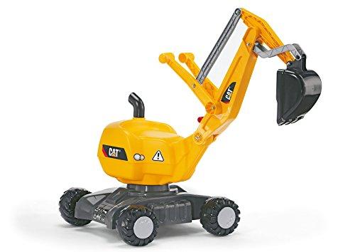 rolly toys | rollyDigger CAT | voll funktionsfähiger Kunststoff Bagger | 421015
