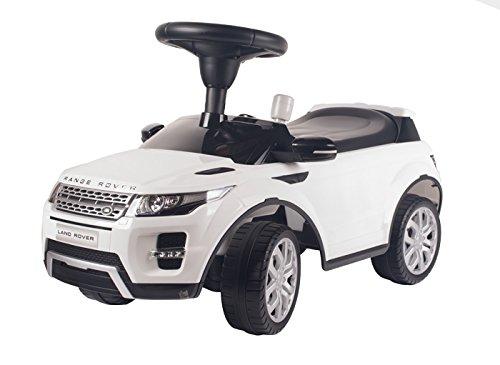 Range Rover Rutschauto Lizenziert Rutscher Kinderauto Kinderfahrzeug (weiß)