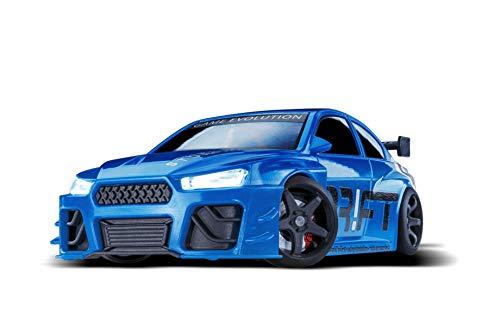 DR!FT Racer Blue Blizzard Gymkhana Edition ferngesteuertes Drift Auto, Rc Car mit realistischer Fahrdynamik zur Steuerung mit iPhone oder Android, reales Fahrverhalten simuliert via App