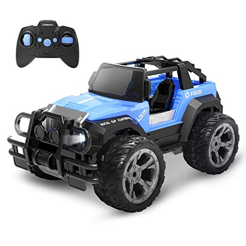 DEERC DE42 RC Ferngesteuertes Auto für Kinder,Wasserdicht Car 1:18 Spielzeug mit 80 Min. Lange Laufzeit,Fernbedienungsauto Offroad mit 2.4 GHz Fernbedienung,Rennauto Outdoor und Indoor Fahrzeug...