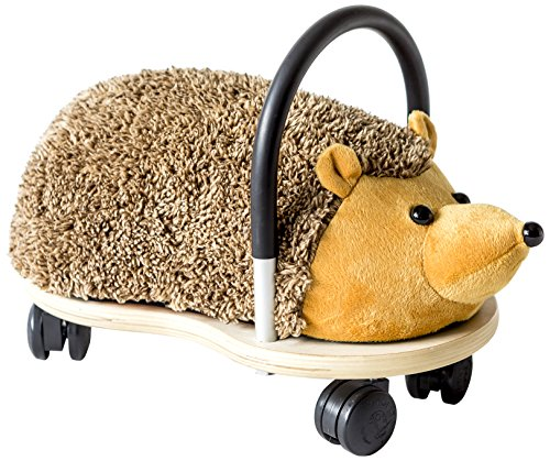 Wheelybug Kleiner Igel Plüsch-Spielzeug, mit Rollwagen