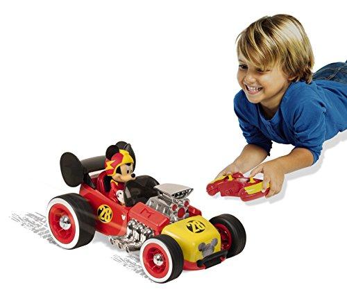 Micky Maus 182448MM2 Disney Junior MRR RC Auto 2,4 GHZ, rot