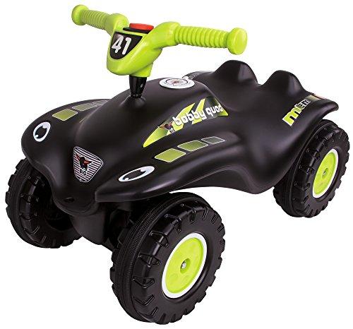 BIG-Bobby-Quad-Racing - Kinderfahrzeug mit Geheimfach und Kniemulde für ältere Kinder, 27 cm Sitzhöhe, belastbar bis zu 50 kg, Rutschfahrzeug für Kinder ab 3 Jahr