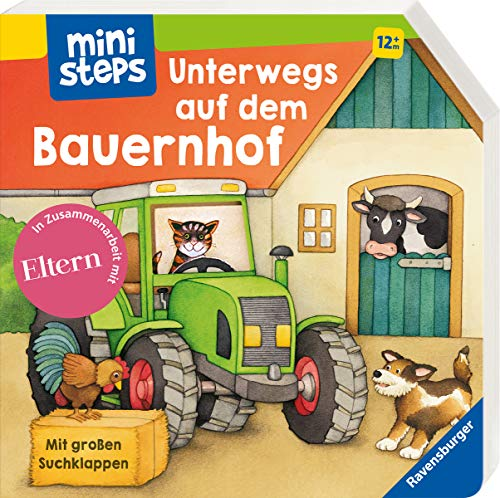 ministeps: Unterwegs auf dem Bauernhof: Ab 12 Monaten (ministeps Bücher)