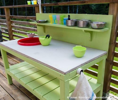 Matschküchen für Kinder